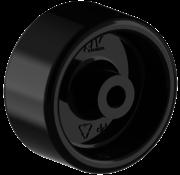 LIV SYSTEMS kolo + trdno polipropilensko kolo Ø50 x W25mm Za 50kg