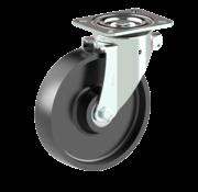LIV SYSTEMS vrtljivo kolo + litoželezno kolo Ø200 x W50mm Za 800kg