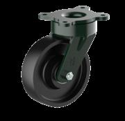 LIV SYSTEMS vrtljivo kolo + litoželezno kolo Ø160 x W50mm Za 900kg