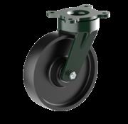 LIV SYSTEMS vrtljivo kolo + litoželezno kolo Ø200 x W50mm Za 1100kg