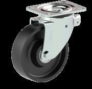 LIV SYSTEMS vrtljivo kolo + litoželezno kolo Ø160 x W50mm Za 600kg