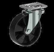 LIV SYSTEMS vrtljivo kolo + trdno poliamidno kolo Ø200 x W50mm Za 500kg