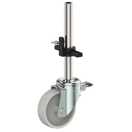 Technical nylon heat resistant scaffolding wheel