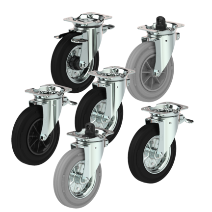 Garbagecontainer wheels