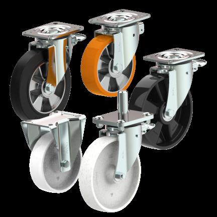 Heavy duty Wheel systems