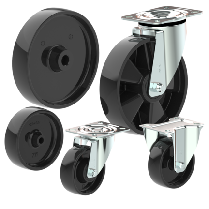 Heat resistant wheels