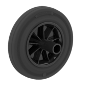 LIV SYSTEMS Transport wheel with  rubber tread Ø200 x W50mm for 160kg