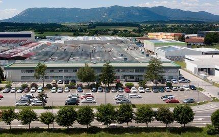 Production in Postojna, Slovenia