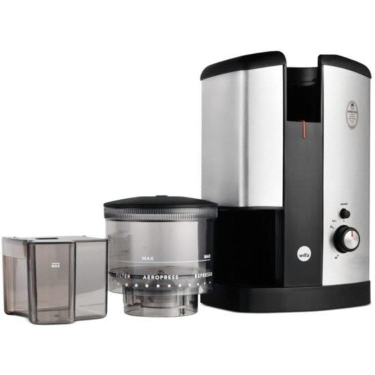 Wilfa Elektrische Koffiemolen Svart WSCG-2 Zilver-3