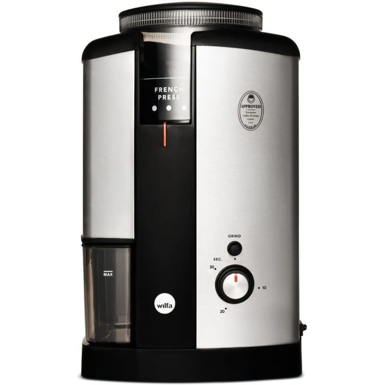 Wilfa Elektrische Koffiemolen Svart WSCG-2 Zilver-1