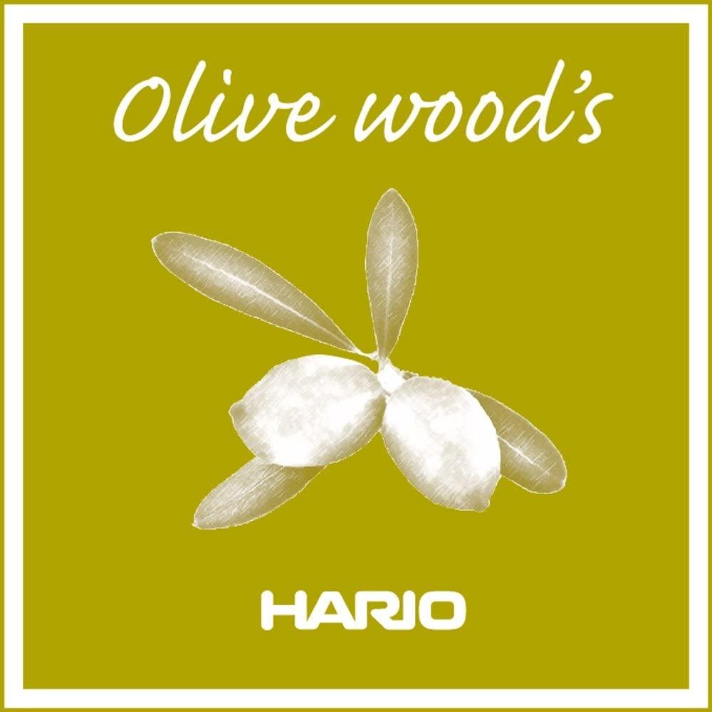 Hario V60 Server Olijfhout en Glas 02-2