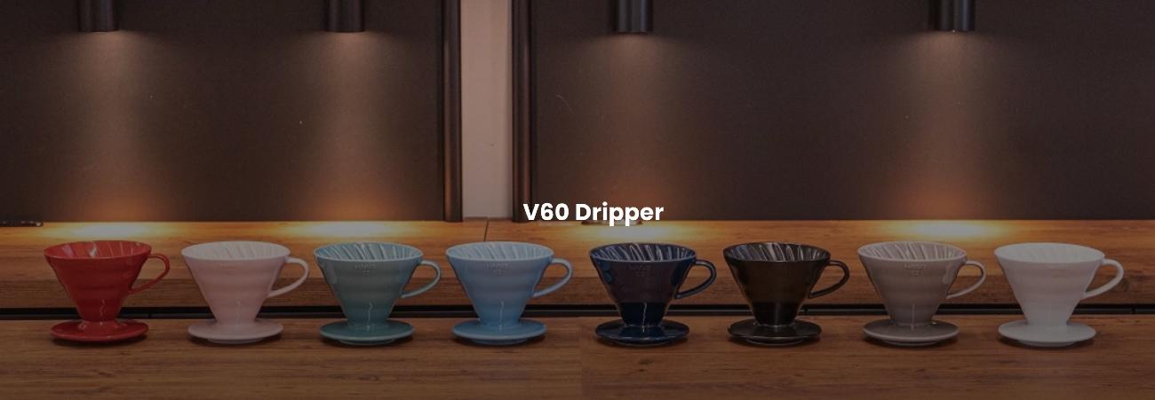 V60 filterhouder ceramic alle kleuren