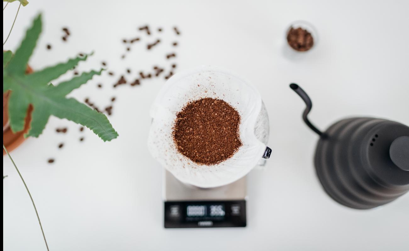 Filterkoffie opgieten header