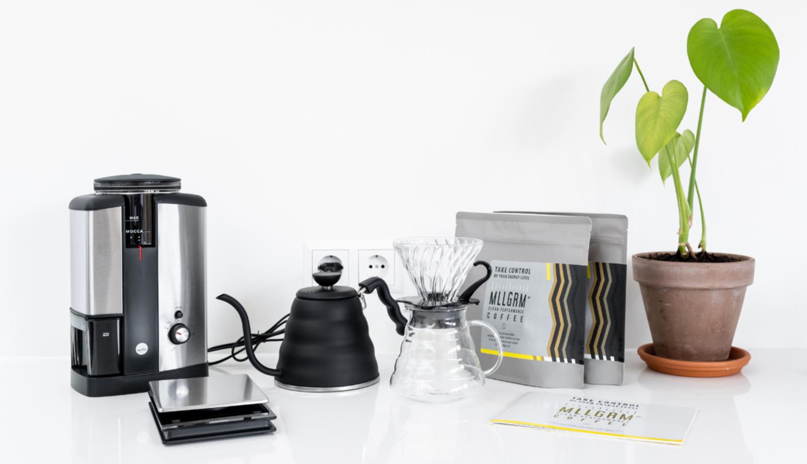 Alles-in-één Filterkoffie Homekit Glas-1