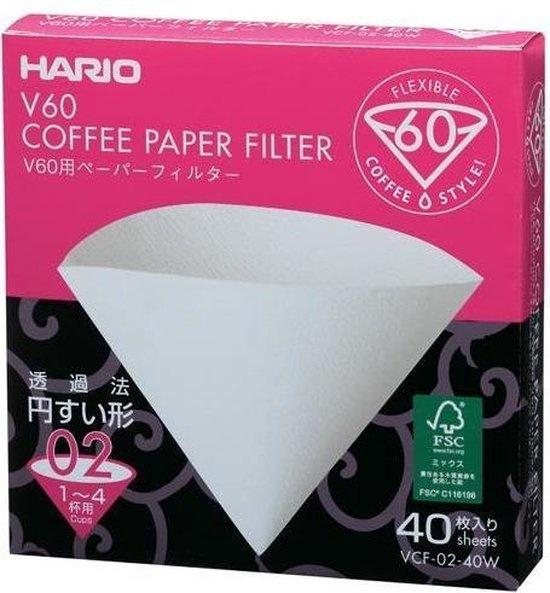 Hario V60 Filterpapier 02 (40 stuks)-1