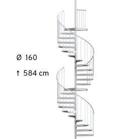 SCALANT SCARVO L 160 mit WPC Stufen