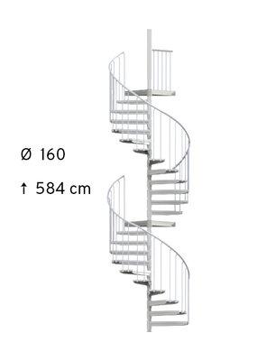 SCARVO L 160 mit WPC Stufen
