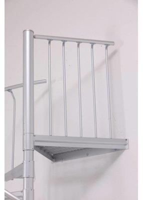 Zusatzpodest Aluminium für SCARVO 160