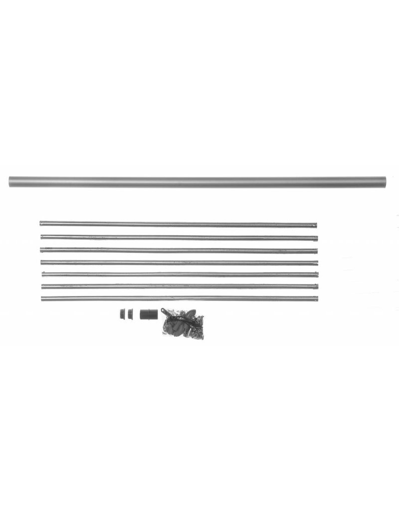 Zusatzpodest Aluminium für Außentreppe SCARVO 180