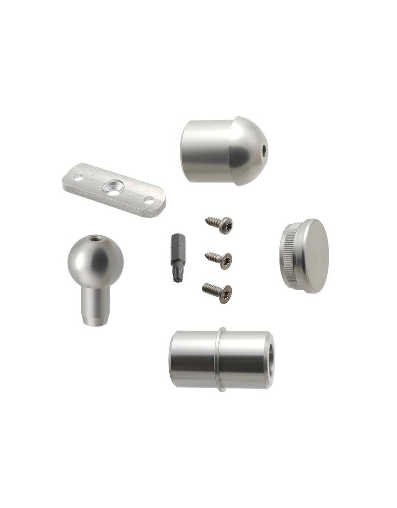 SCALANT Zusatzpodest Aluminium für Außentreppe SCARVO 180