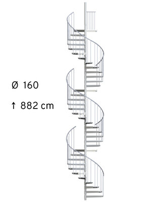 SCARVO XL 160 mit WPC Stufen