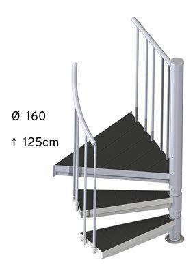 SCALANT SCARVO S 160 mit WPC Stufen