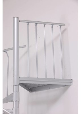 SCALANT Zusatzpodest Aluminium für SCARVO 225