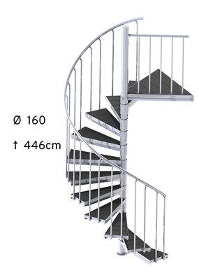 SCALANT SCARVO M 160 mit WPC Stufen
