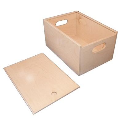 Grote doos met schuifdeksel