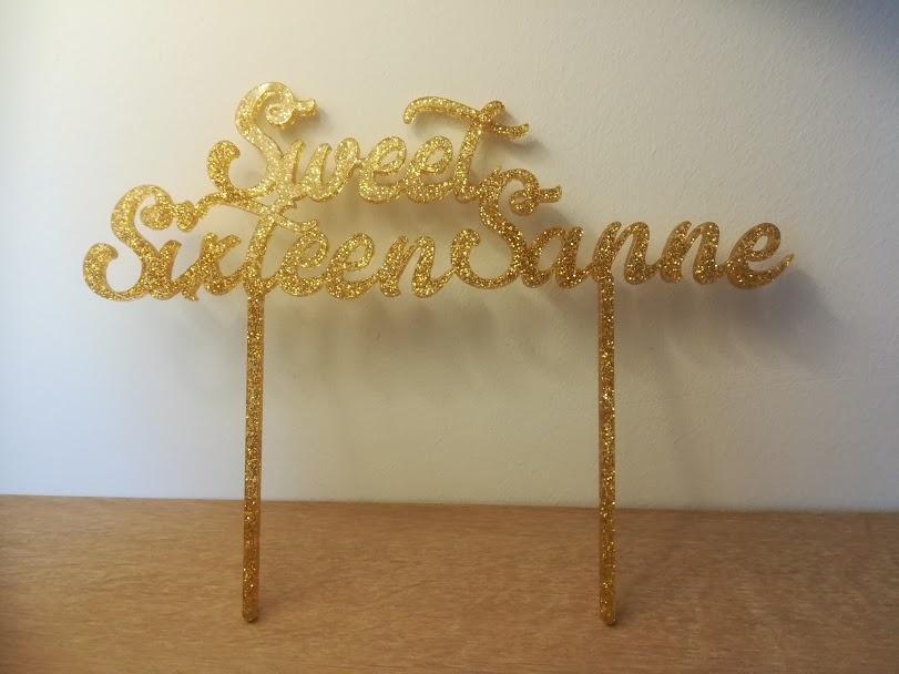 Taarttopper Sweet Sixteen