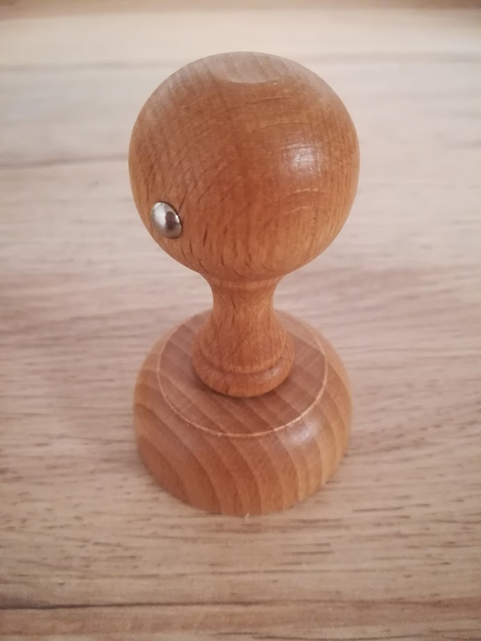 Houten handstempel  5 cm