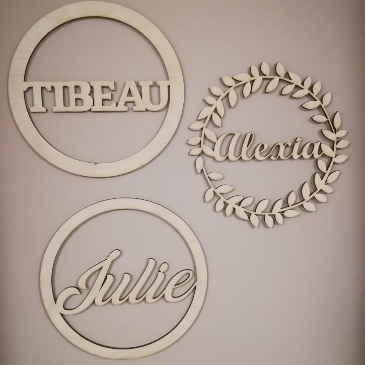 Naamdecoratie - Cirkel