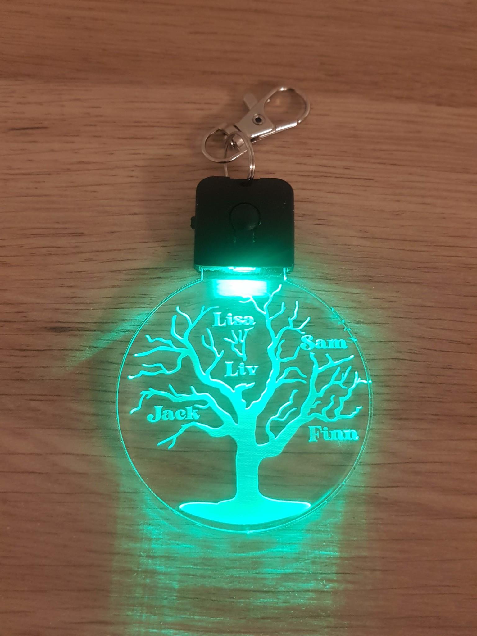 Sleutelhanger LED lampje