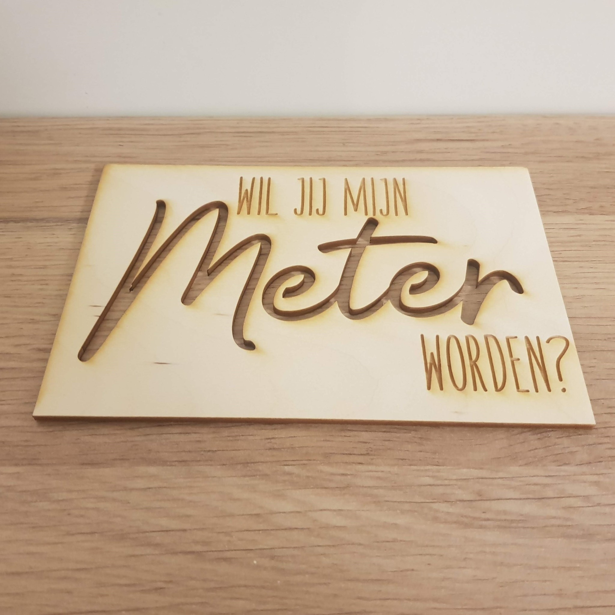 Kaart Meter/Peter vragen