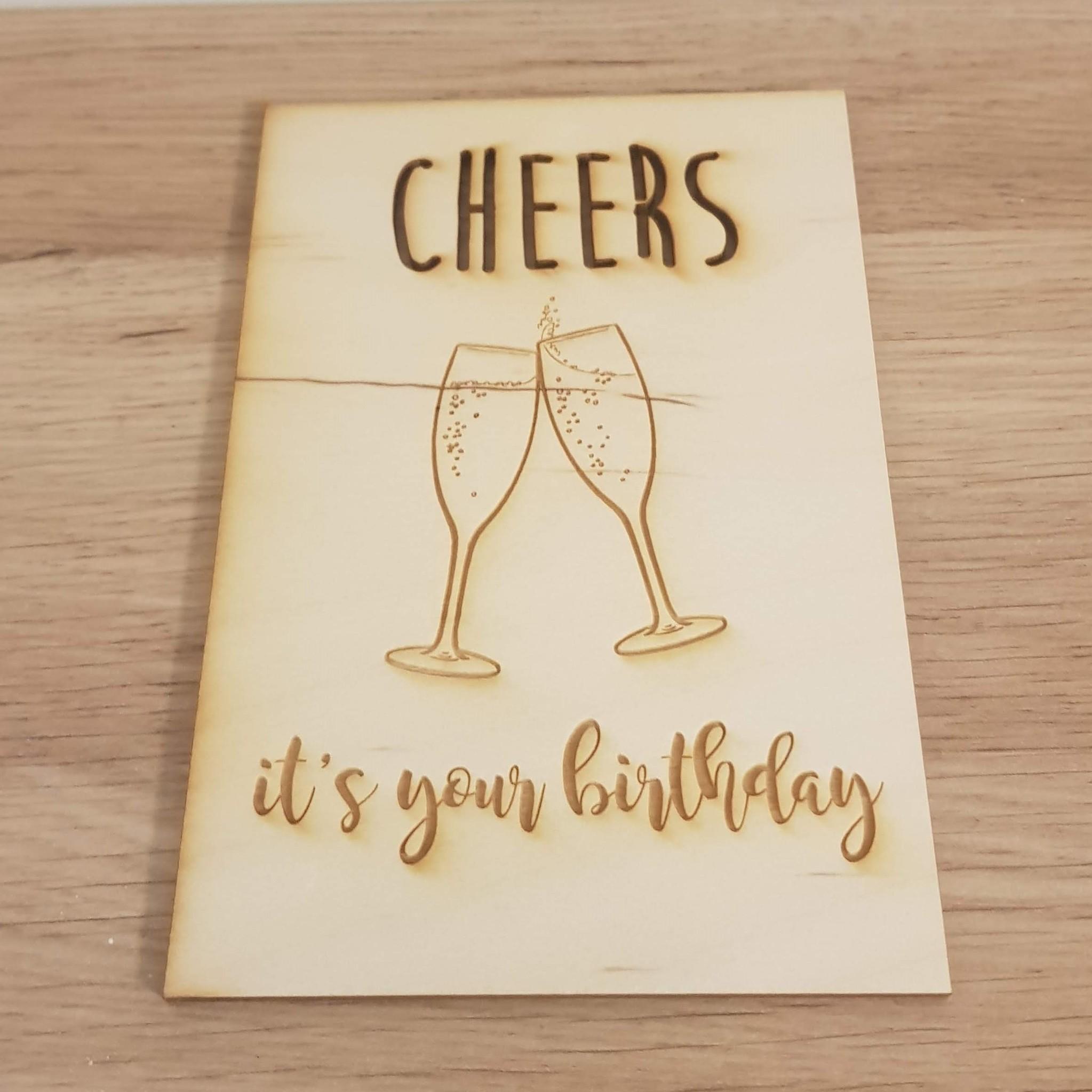 Kaart Cheers