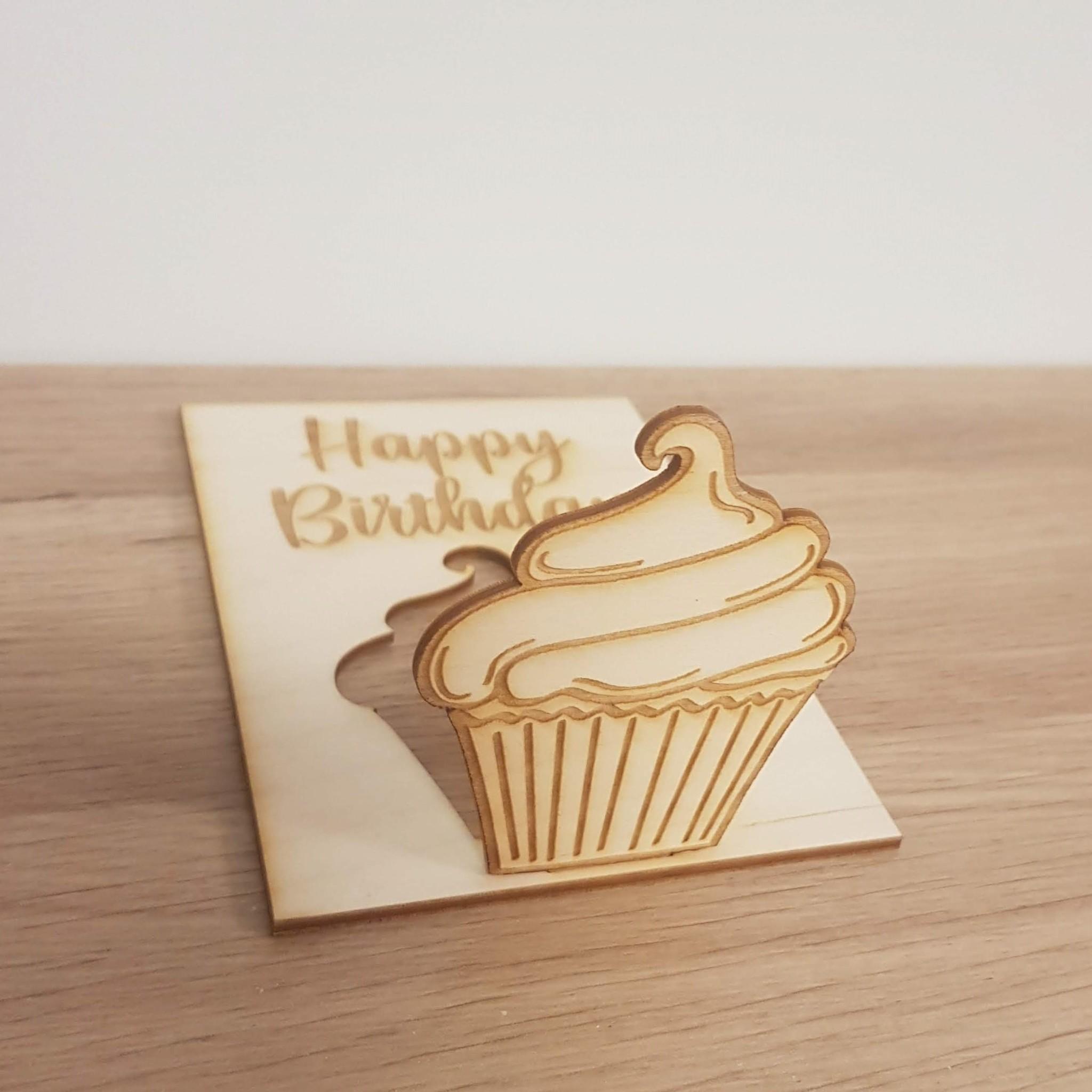 Kaart Cupcake