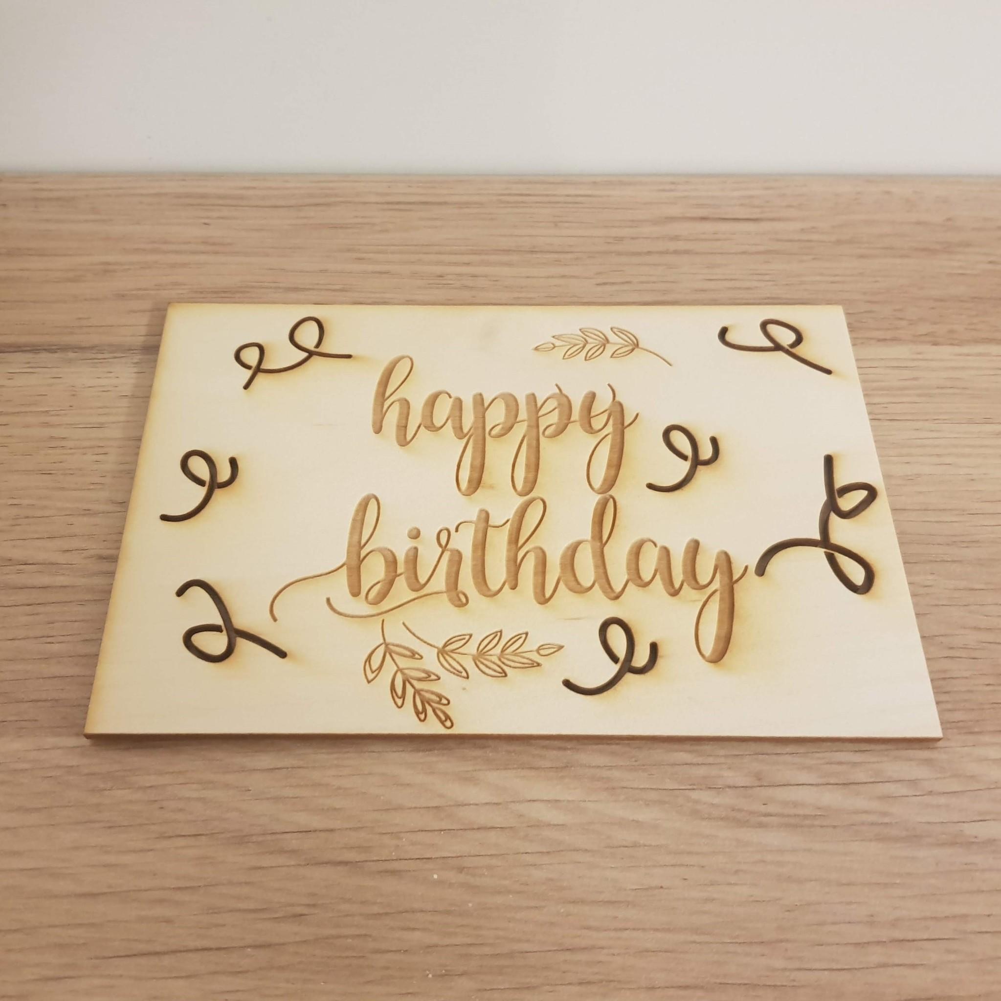 Kaart happy Birthday2