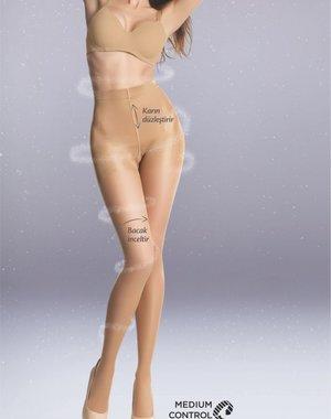 Penti Silhouet, een 20 Denier corrigerende panty voor buik en benen.
