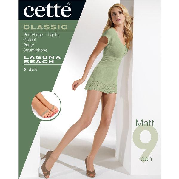 Cette Matte panty voor de zomer van 9 denier