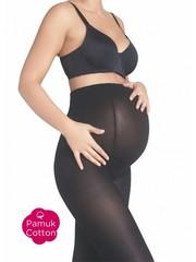 Penti Zwangerschapspanty 90 denier - katoen