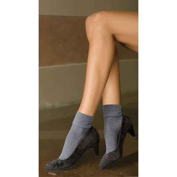 Trasparenze Katoenen sokken met omslag