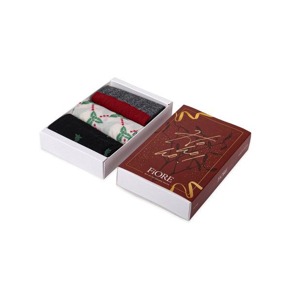 Fiore Ho! Ho! Ho! Gift Box (3 paar sokken)