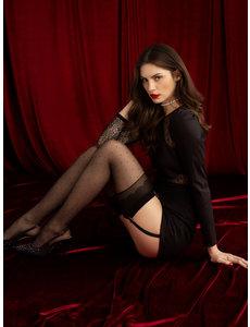 Fiore Premium stockings met stippen