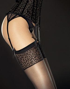Fiore Stockings met tijgerprint