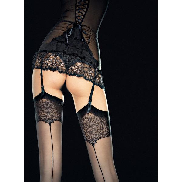 Fiore Sterke stockings met print 20 DEN
