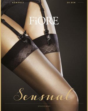 Fiore Romance Stockings 20 Denier