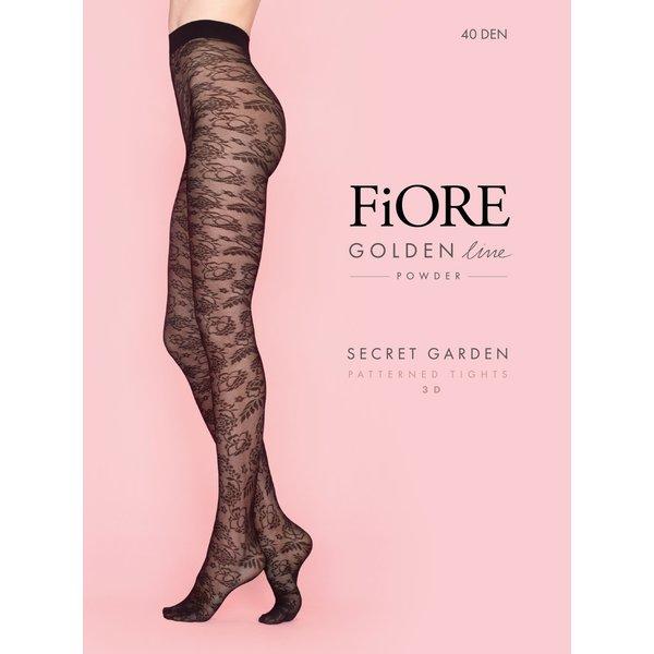 Fiore Secret garden panty - 40 denier
