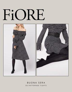 Fiore Trendy panty met stippen - 40 denier