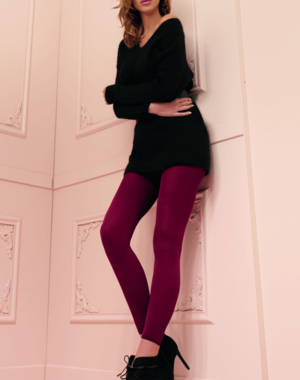 Trasparenze Microvezel legging in diverse kleuren  - 100 denier
