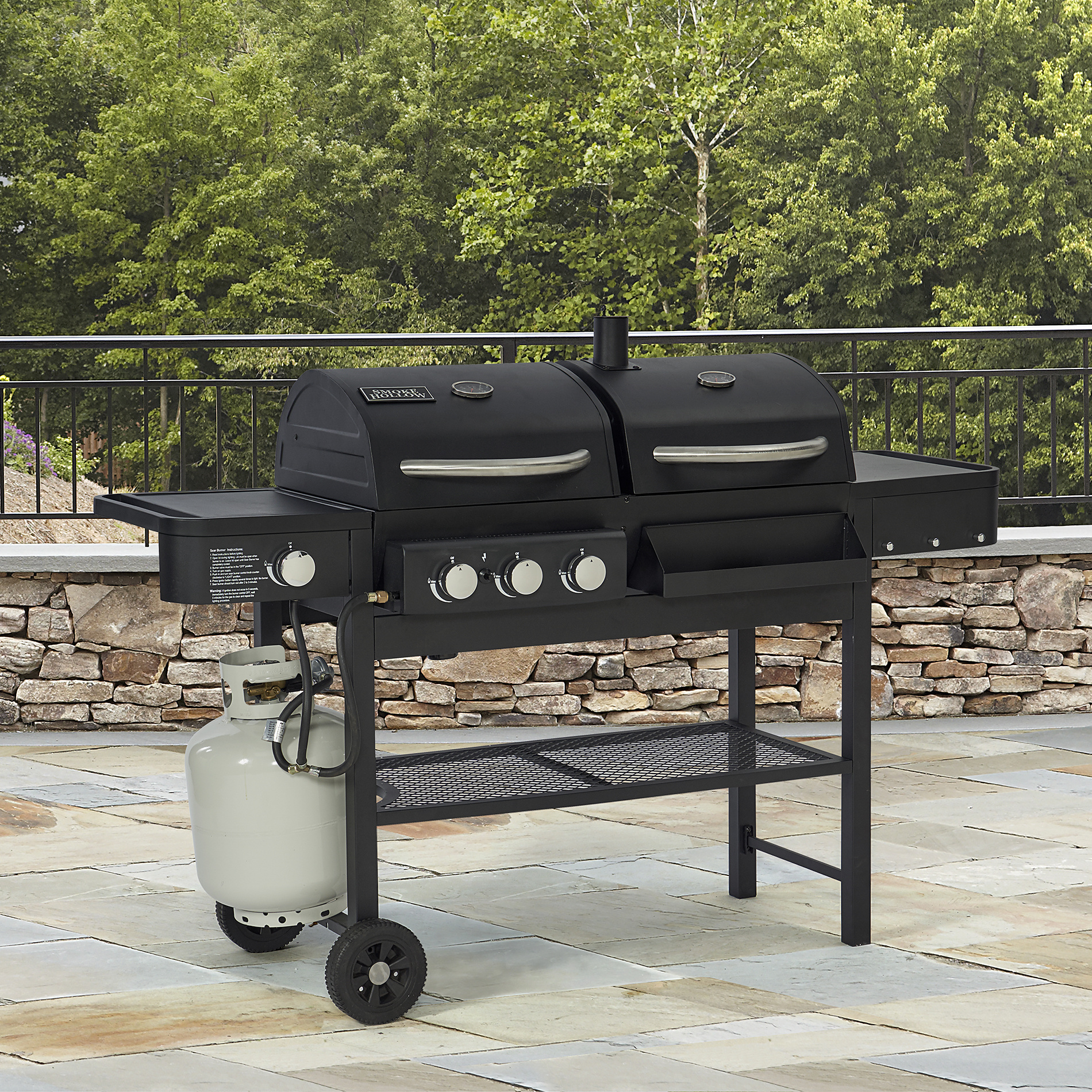 Combi barbecue
